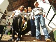 North Participants, Lisa, Randi, Anne and Aleksander