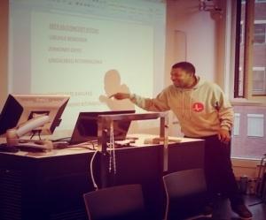 Thulani teaching