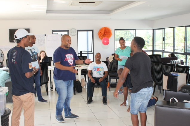 """Peer Educators doing activities on """"Disability Awareness and Inclusive Teaching"""""""