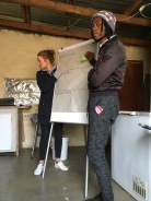 PULSE running a tutor session in Parys
