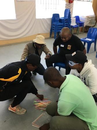 """Stellenbosch team doing """"the tallest structure"""""""