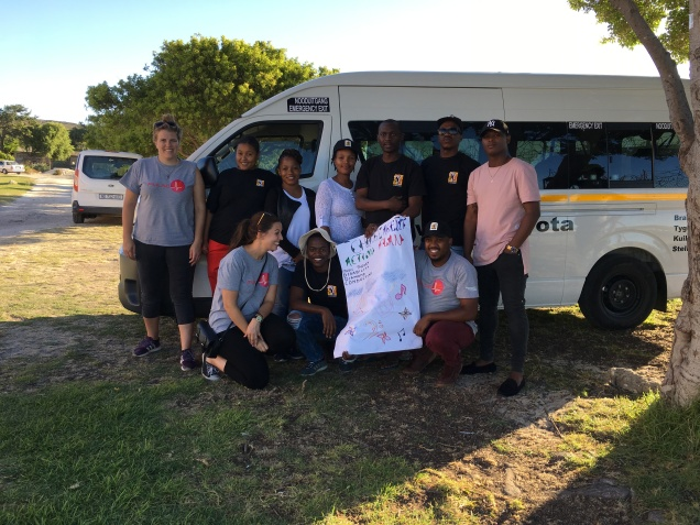 The Stellenbosch Team, FBE and PULSE with the Change agent action plan